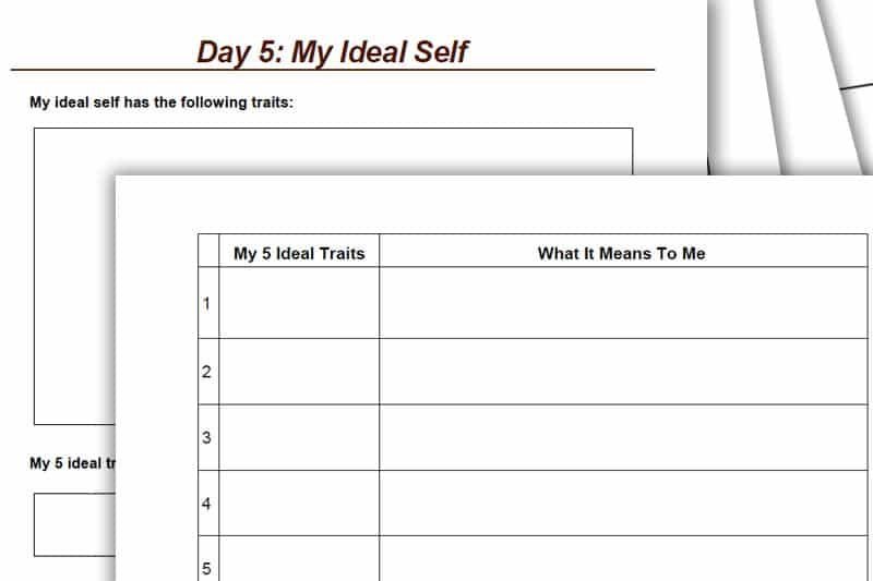 30BBM Workbook: My Ideal Self