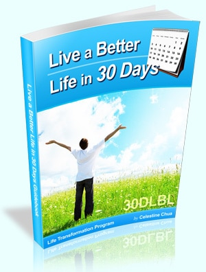 Live a Better Life in 30 Days Program