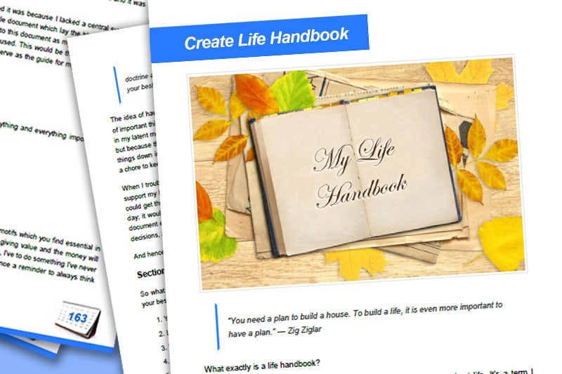 30DLBL Guidebook: Create Life Handbook