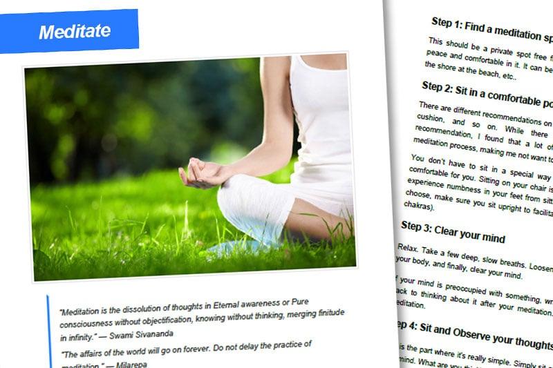 30DLBL Guidebook: Meditate