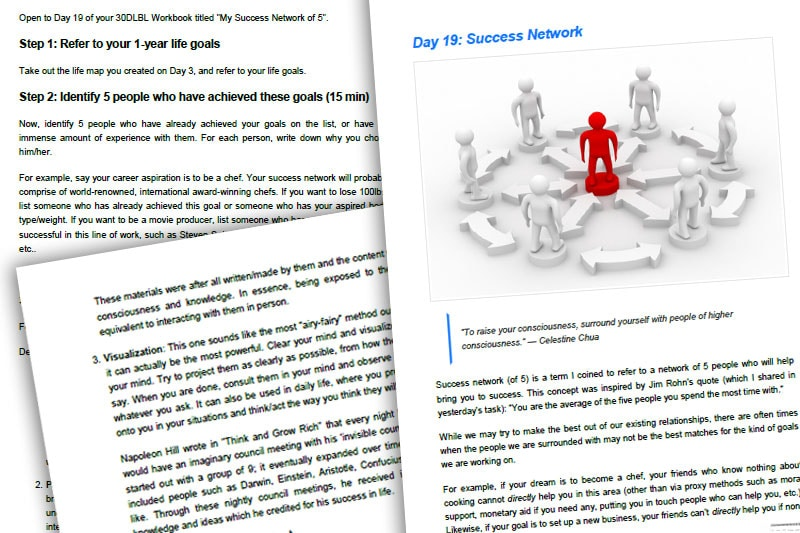 30DLBL Guidebook: Network