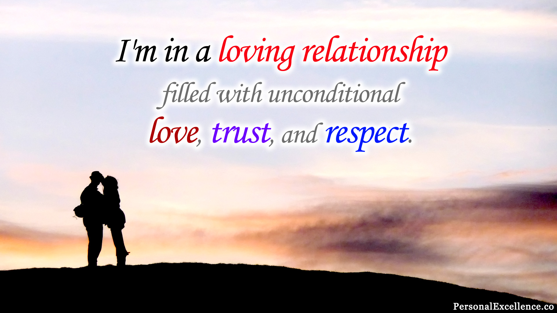 How to achieve unconditional love relationship