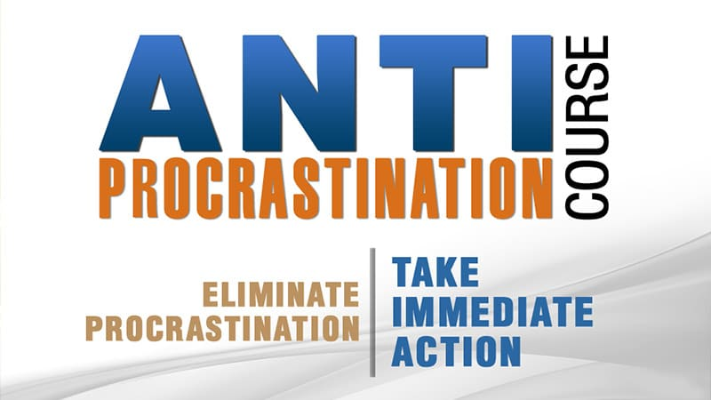 Course Card: Anti-Procrastination Course