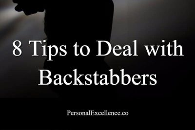How To Deal with Backstabbers