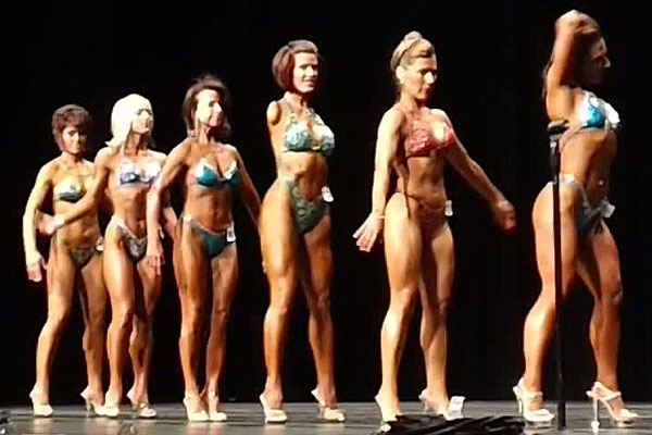 Barbie Thomas, body building competition