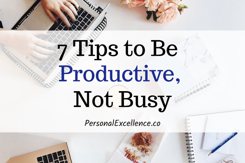 Busy vs. Productive