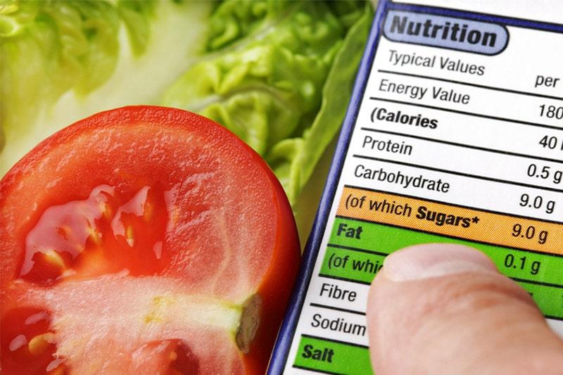 Calorie list
