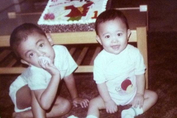1985: My first birthday