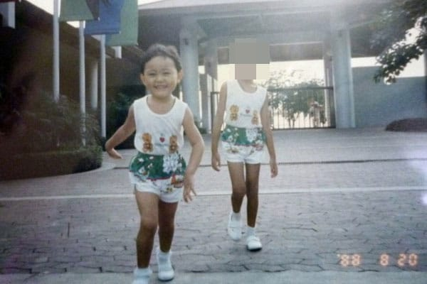 1988: Running to my dad