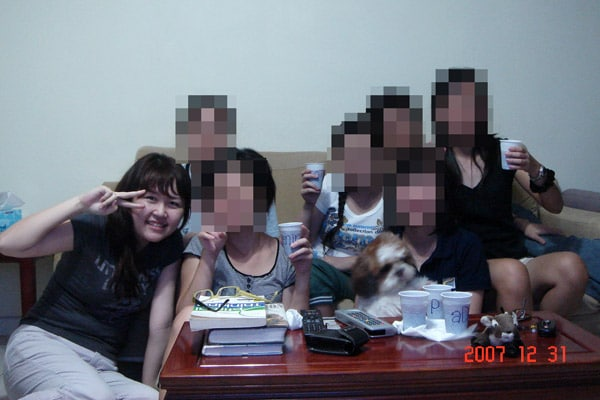 Countdown to 2008 with my friends