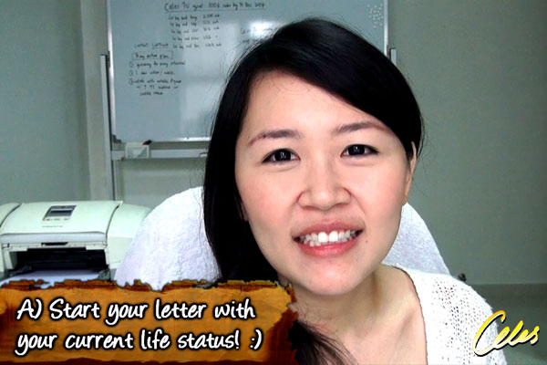 Writing a letter to your future self [Video]
