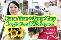 Room Tour + Create Your Inspirational Workspace [Celes.TV]