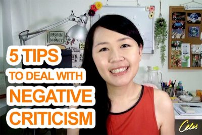 5 Tips to Deal with Negative Criticism [Celes.TV]