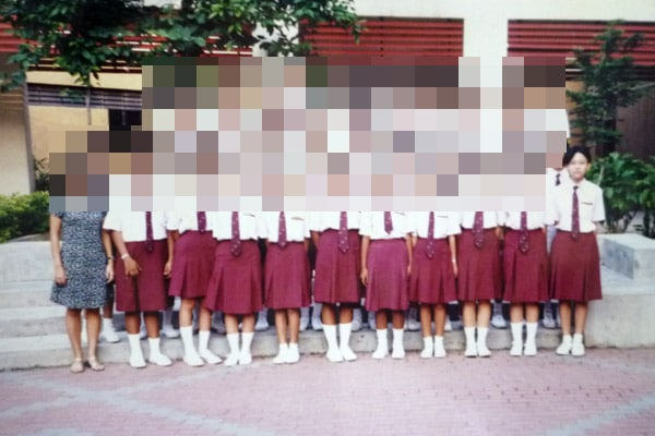 My secondary school class photo (Bukit Panjang Government High)
