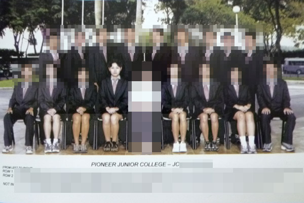 My JC class photo (Pioneer Junior College)