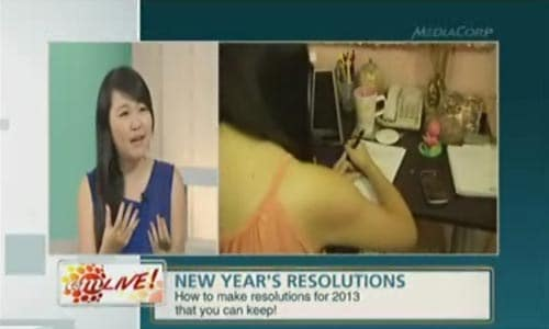 Celestine Chua on Channel News Asia, AM Live!