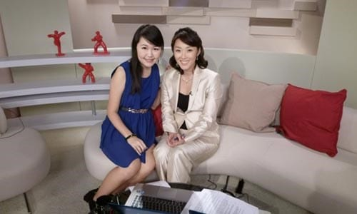 Celestine Chua and Suzanne Jung on Channel News Asia, AM Live!