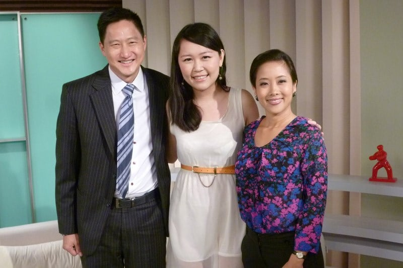 Channel News Asia, AM LIVE!: Steven Chia, Celestine Chua, and Yvonne Yong