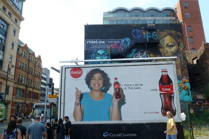 Coca-Cola Billboard Advertisement