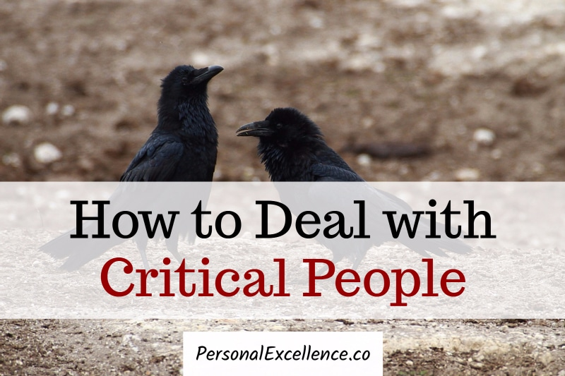 How to Deal with Critical People