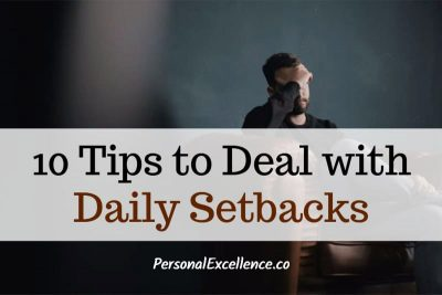 10 Tips to Deal with Daily Setbacks
