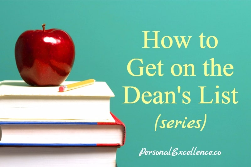 How to Get on the Dean's List