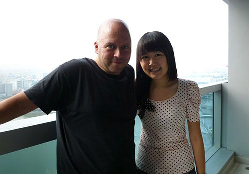 Derek Sivers and Celestine Chua