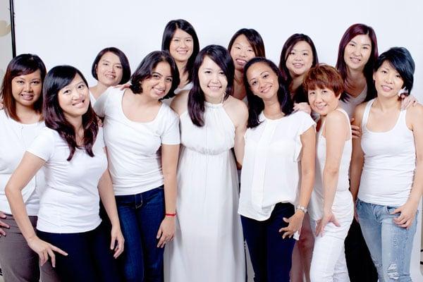 Dove Camera Confidence Workshop - Group shot