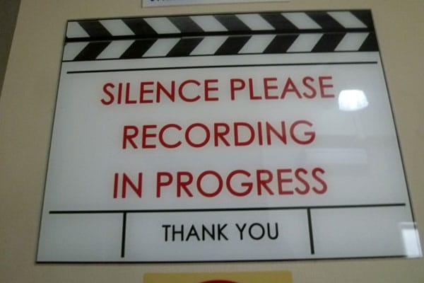 Dove Camera Confidence Shoot: Silence please! Recording in progress.