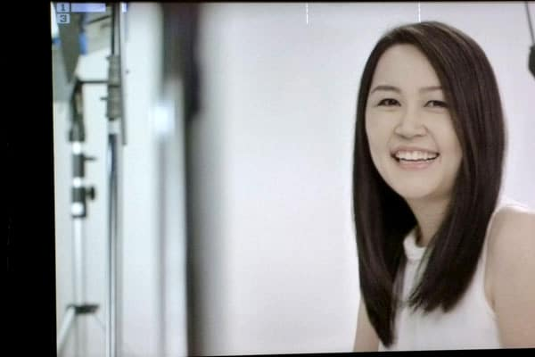 Dove Camera Confidence Shoot: Celes smiling