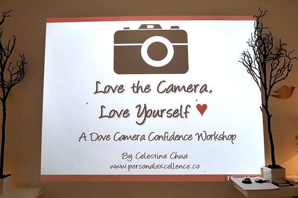 Dove Camera Confidence Workshop: Identifying camera anxieties
