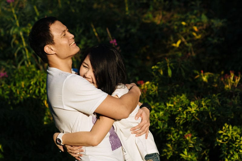 Engagement shoot: In each other's embrace
