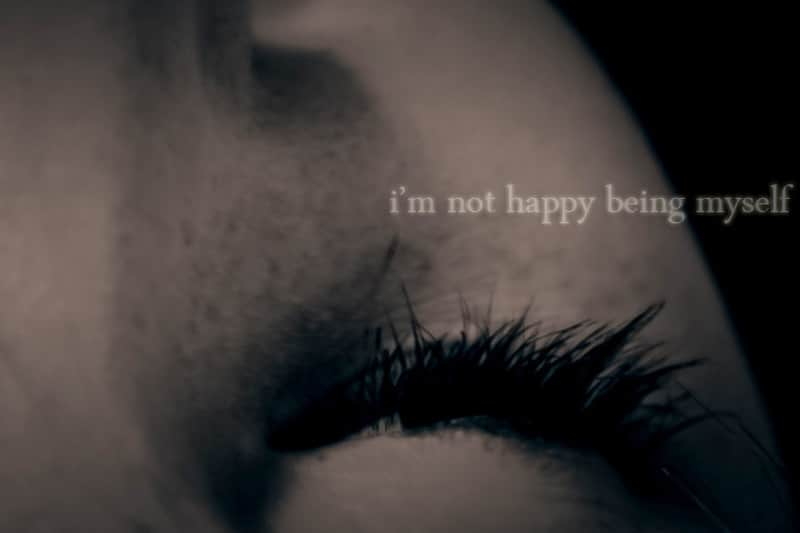 "Eyelashes - ""I'm not happy being myself"""