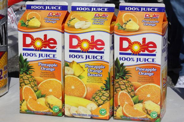 Processed fruit juice