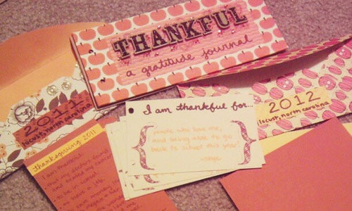 A beautiful gratitude journal by Skye Harmony