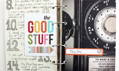 A homemade gratitude journal by Wendy Copley (A peek inside)