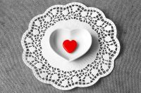 Heart in a bowl