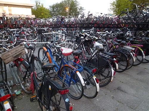 Bicycles in Holland