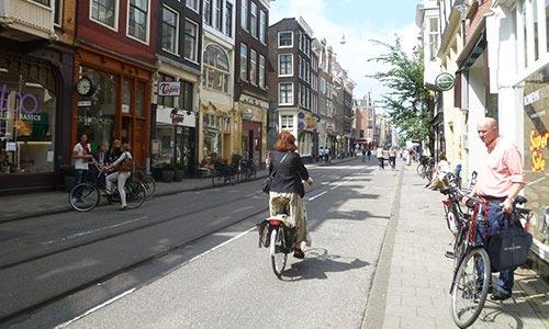 Utrechtsestraat, at Amsterdam South