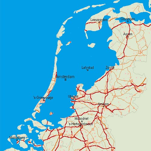 Holland if there are no dikes