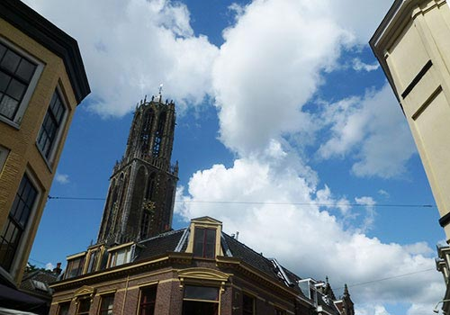 Clouds in Utrecht, at the Dom Tower