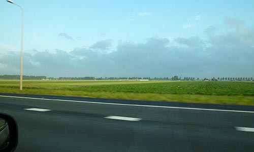 Flat land in Holland