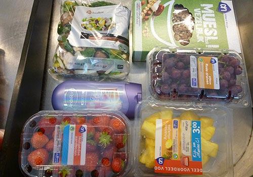 My purchase at a local supermarket, Albert Hjein
