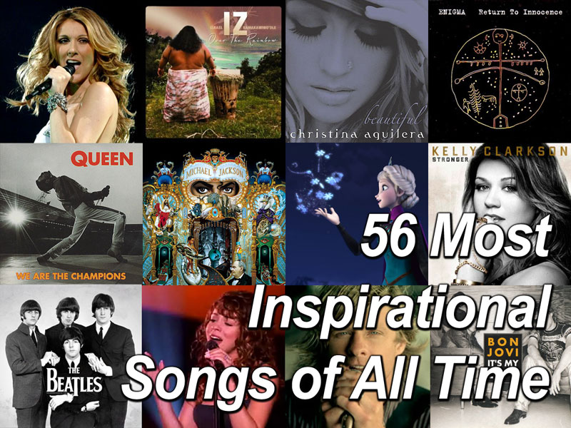 Most Inspirational Songs of All Time