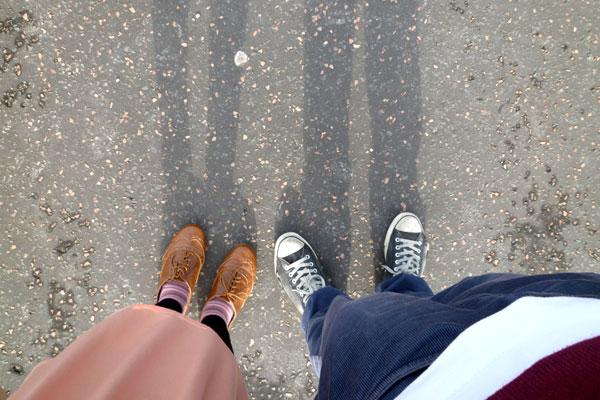 Side by side, together forever