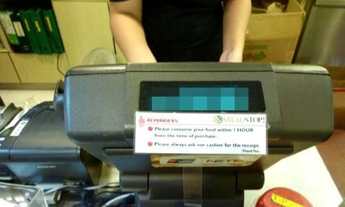 Cashier checkout