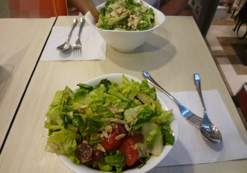 Brunch at Salad Stop!