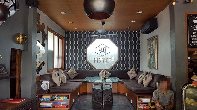 Ubud: Kismet Restaurant, Interior