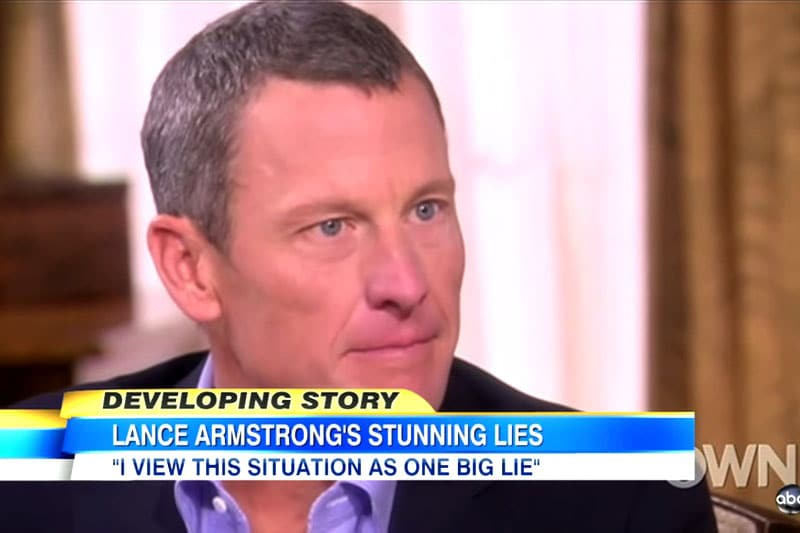 Lance Armstrong Confession on OWN