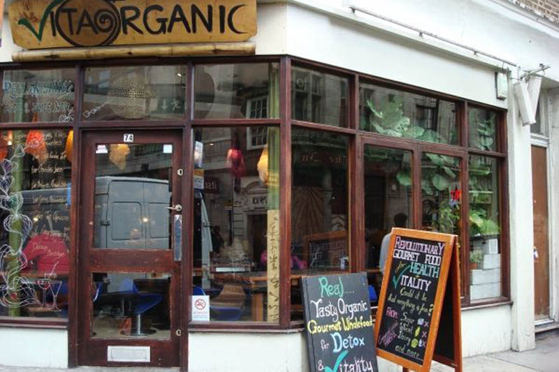 Vita Organic Cafe in London
